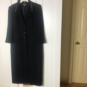 Viscardi Paris Light Dressy Black Coat